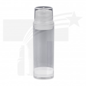 BOTELLA AIRLESS DE 150ML. 44mm NATURAL 0475