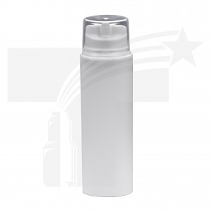 BOTELLA AIRLESS DE 150 ML. 44mm BLANCO 0512