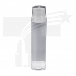 BOTELLA AIRLESS DE 200 ML. 44mm NATURAL 0323