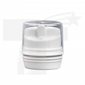 TAPA PARA AIRLESS DE 50  SLIM 1ML. 40mm BLANCO/NATURAL 0460
